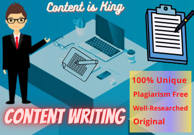 I will be your SEO friendly Content/Article/Blog writer-500 word