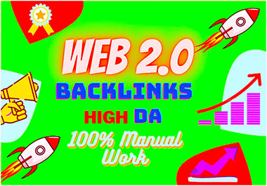 Place on Google 1st page with Web 2 0 High DA/PA Backlinks manually build 30