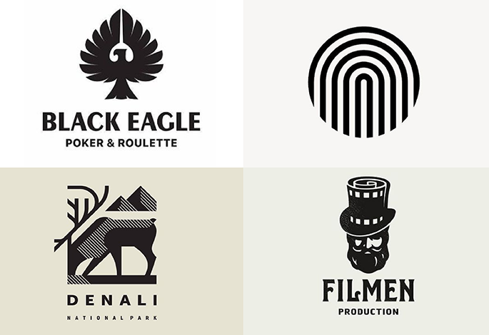 I will design professional flat and minimalist logo for you
