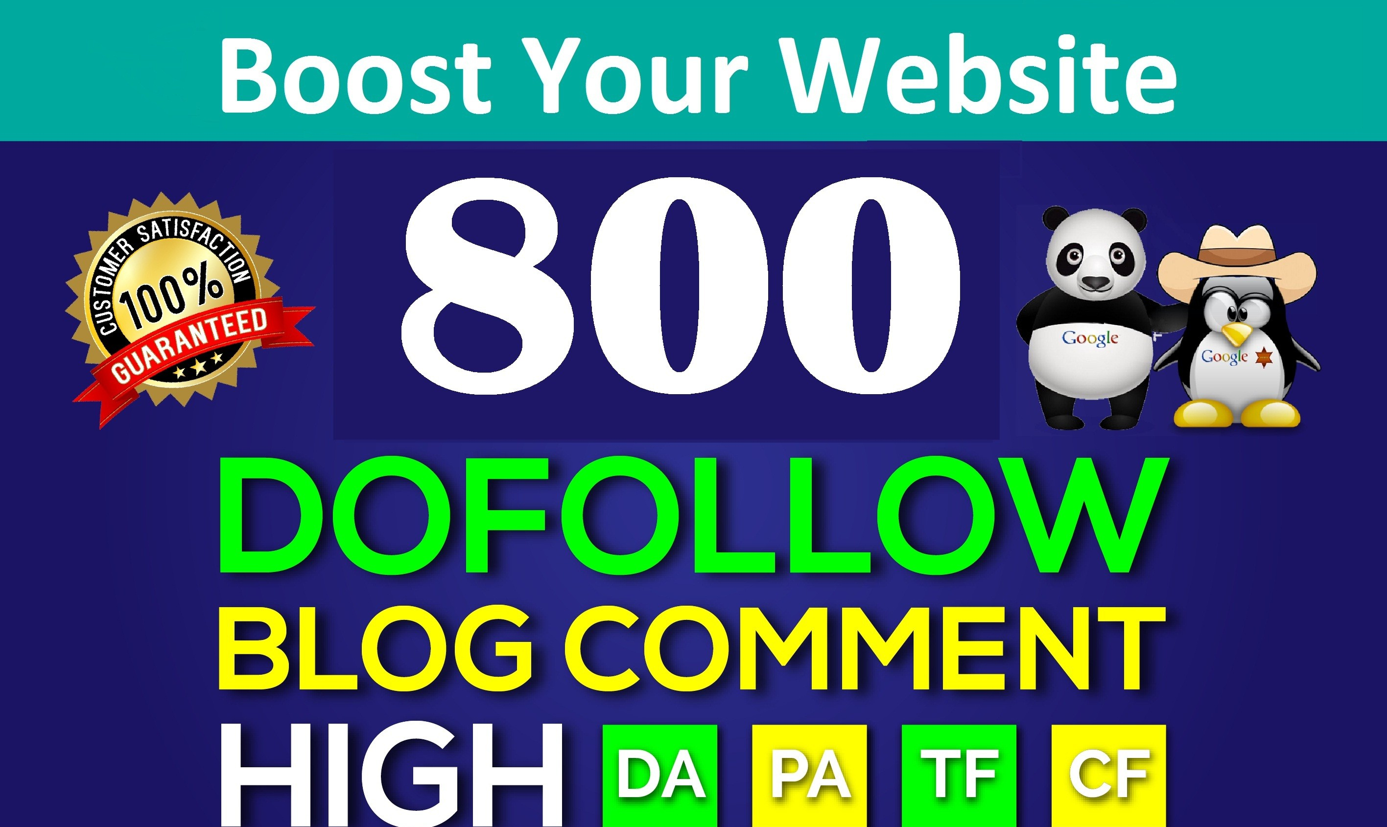 I will Create 800 High Quality Dofollow Blog Comments Backlinks domains on High PR8+