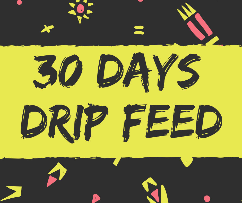 30 days SEO backlink drip feed dofollow blog comment