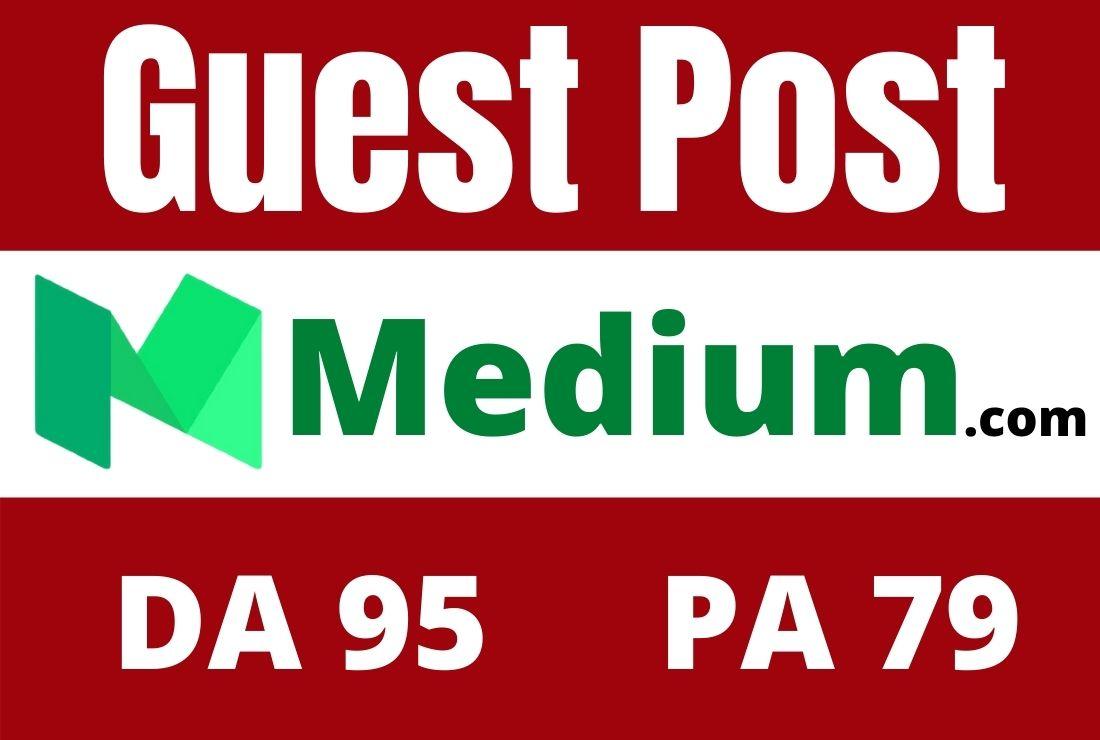 Write And Publish Guest Post On High DA Medium. com