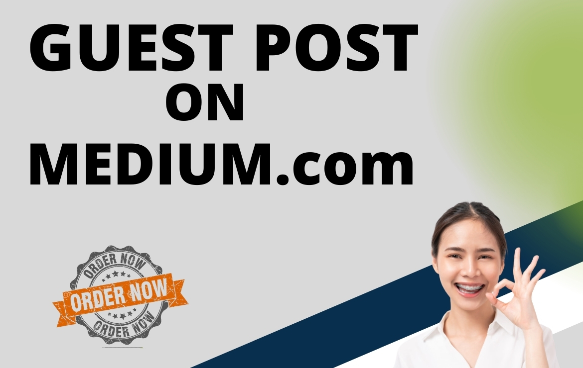 I will create guest post Backlink on Medium. com with unique content