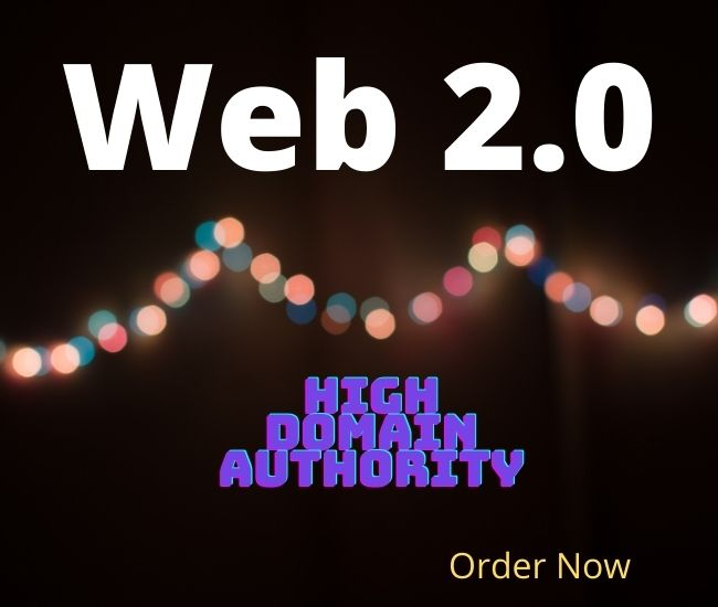 I will create manually 50 high authority Web 2.0 Backlinks to boost your site