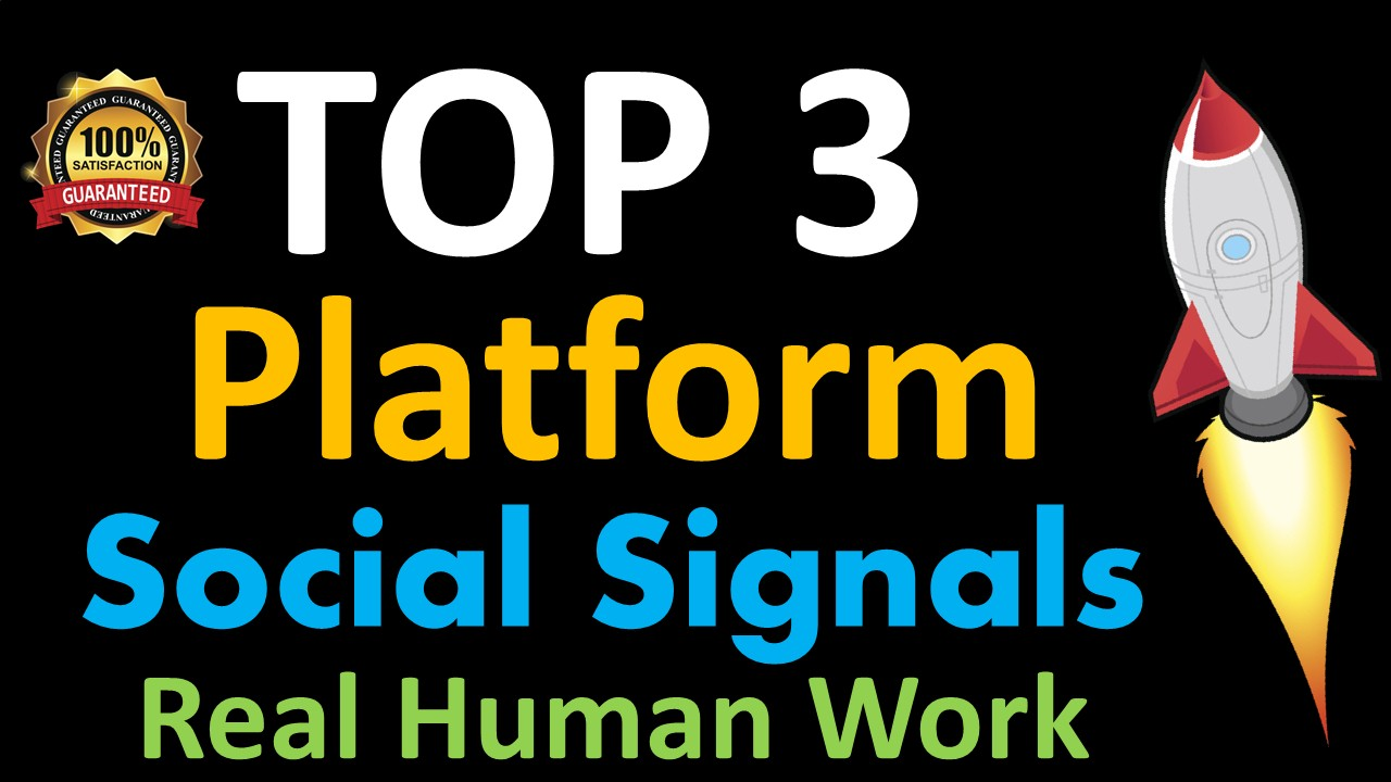 Mega Powerful 10,000 Social Signals for Top 3 Social Media Sites Get More Traffic to Your Website