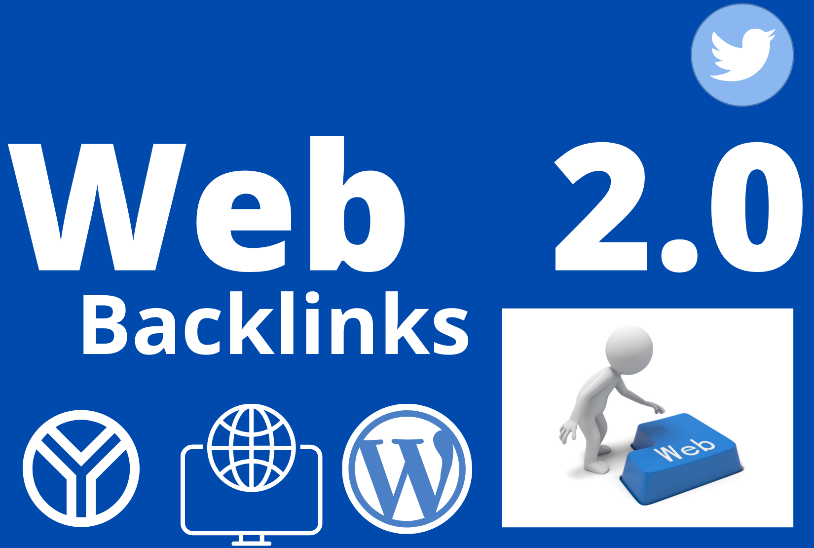 I will create 20 High Authority Do- Follow Web 2.0 Backlinks