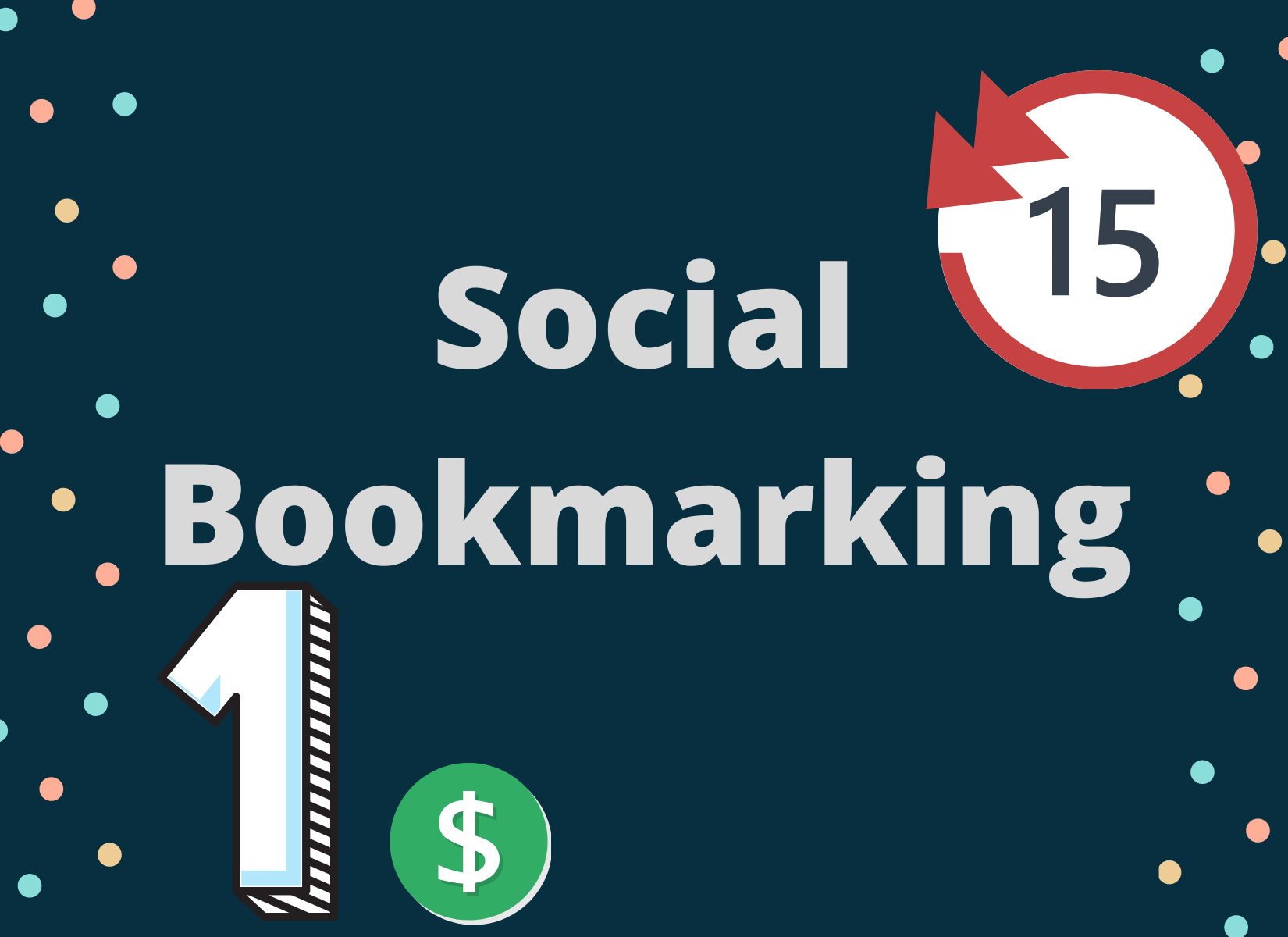 I will do 15 Social Bookmarks For your Website On High Authority Websites