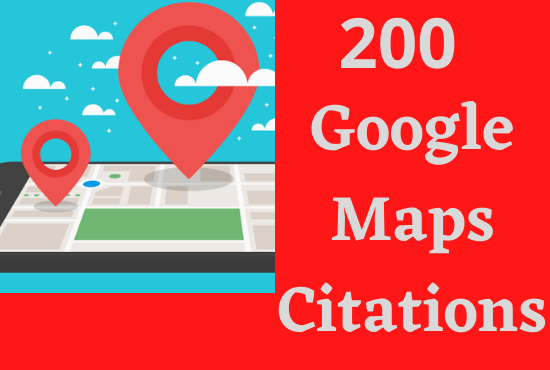 I will do 200 google point map citations for local SEO with live link