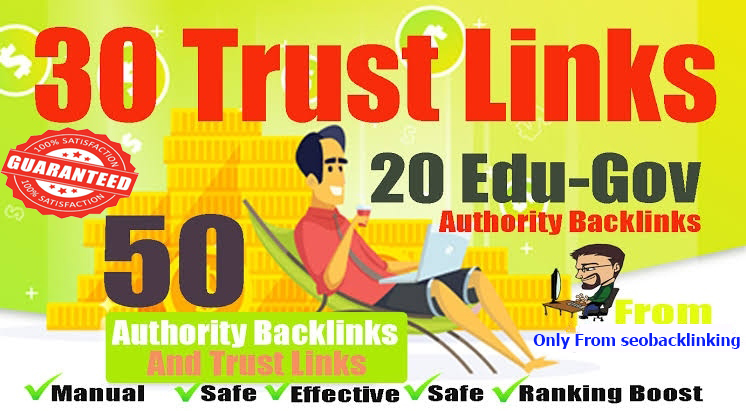 I Will Create Powerful 30 pr9 High Authority With 20 edu Gov Backlinks - Fire Your Google Ranking