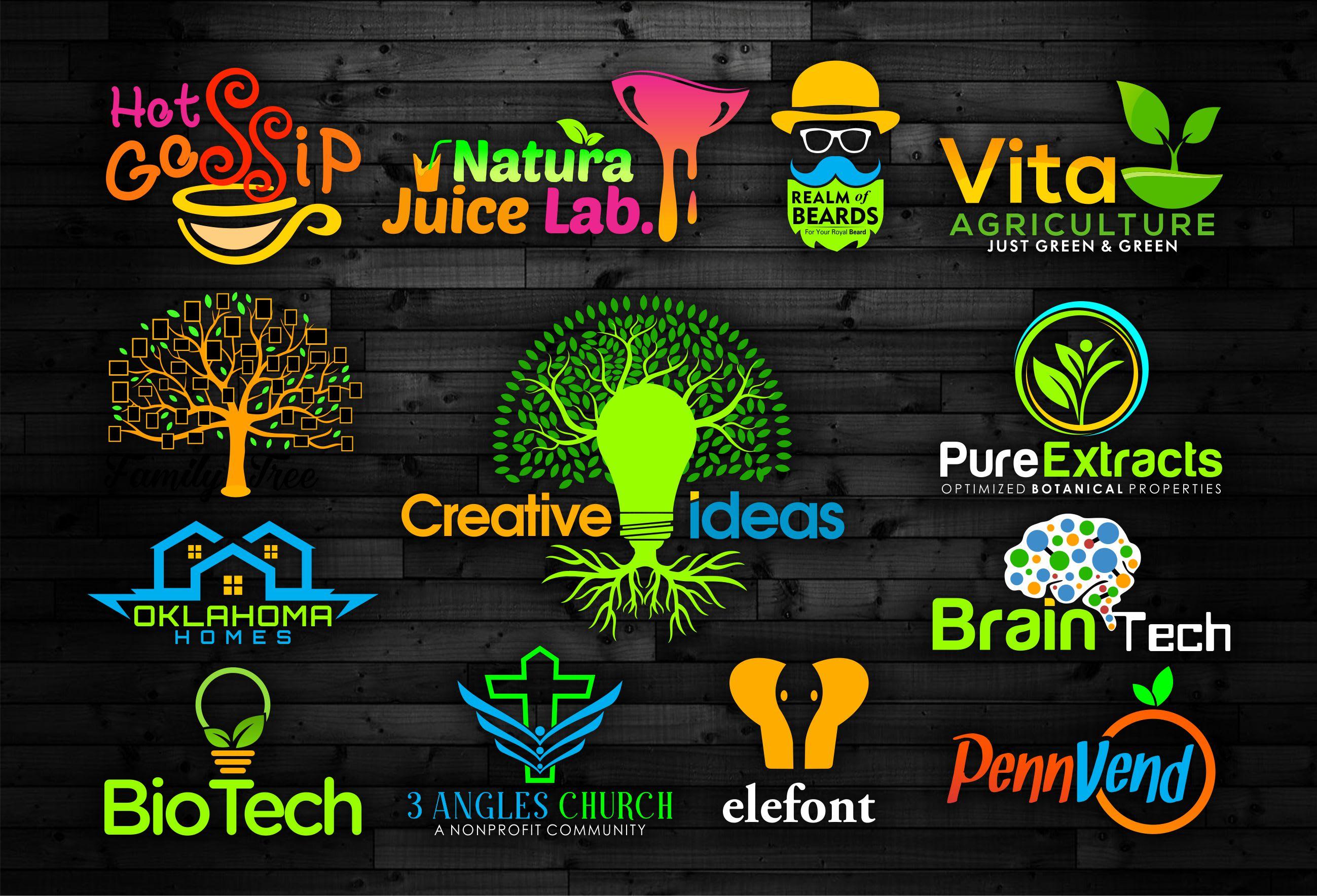 I will design a powerful unique minimal brand logo design