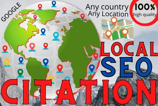 I will do 40 local citation high quality for local SEO for your company