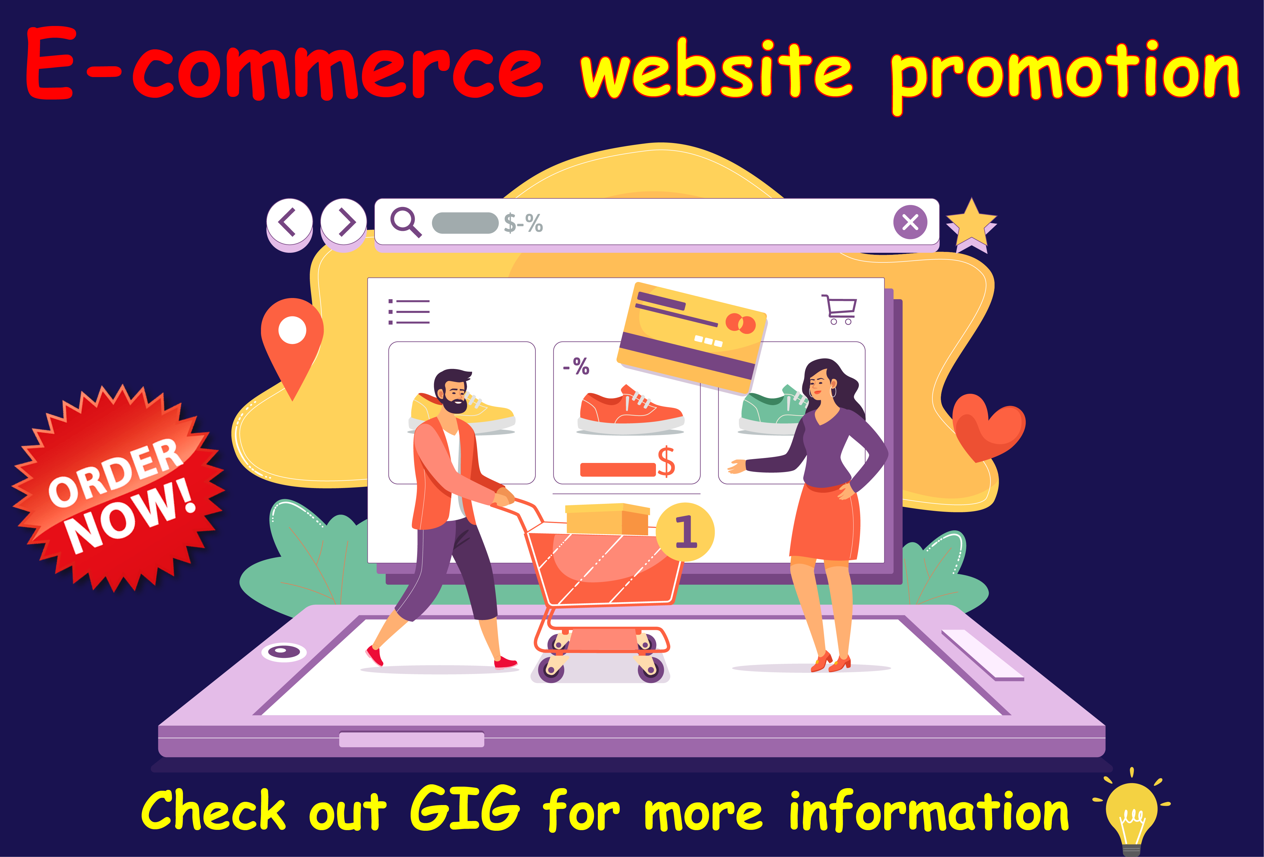 I will drive real traffic to promote your ebay,  etsy,  amazon,  shopify stores