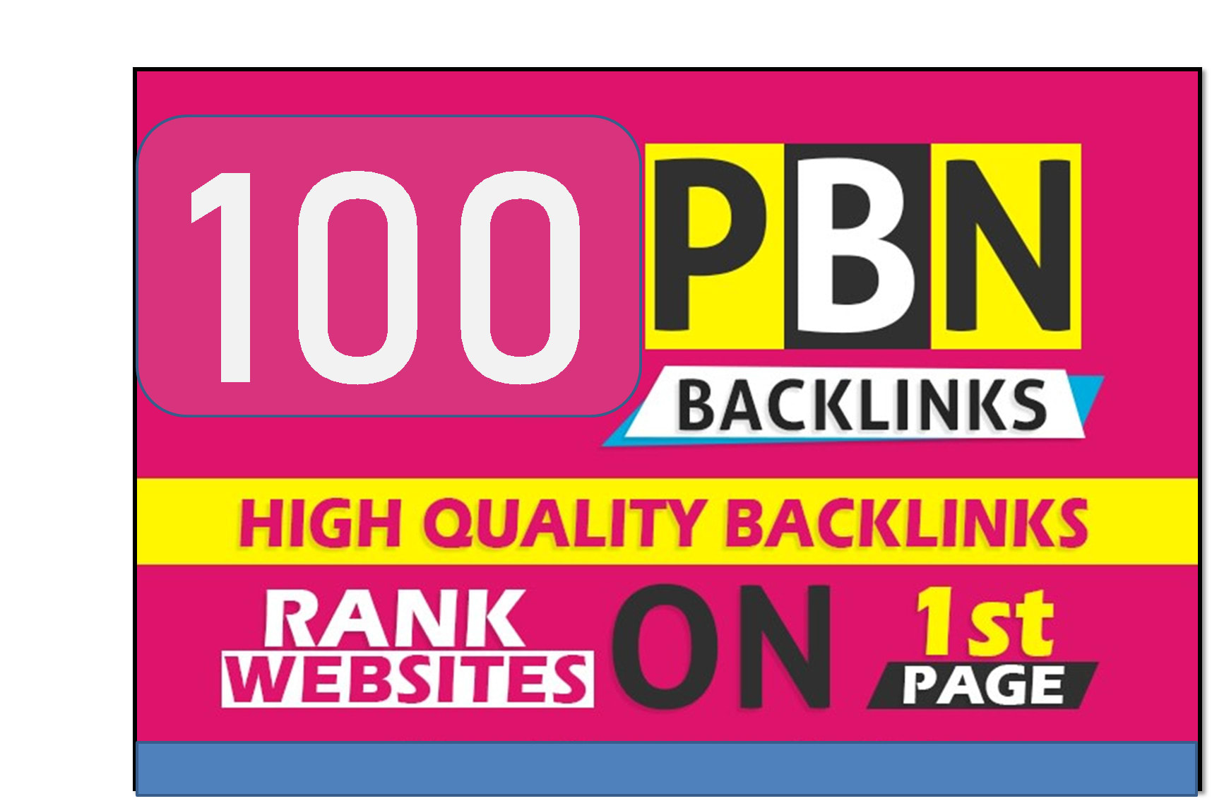 I will create DR 80 permanent dofollow backlinks for off page seo