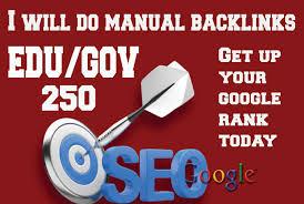 I will create 250 edu gov safe High Quality SEO backlinks from authority site