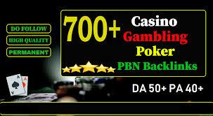 I will provide 700+ Casino Gambling poker pbn backlinks Boost your website top rank