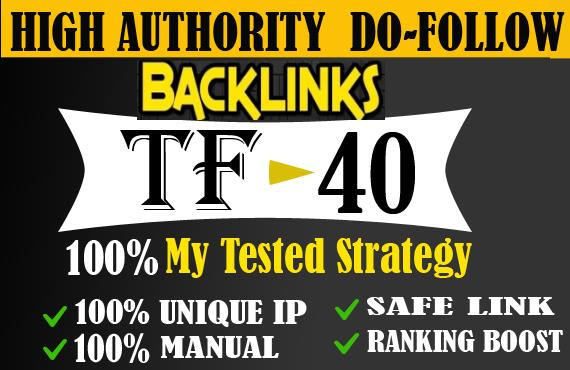 I will give high DA permanent 300 dofollow backlinks for SEO