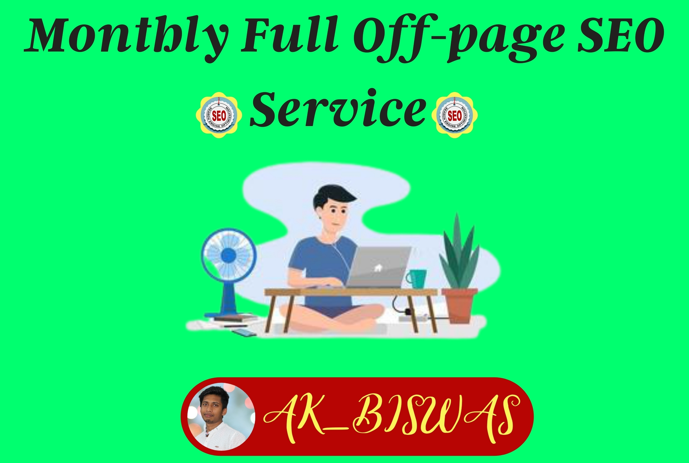 All-In-One monthly full off page SEO service with High Quality 750 backlink