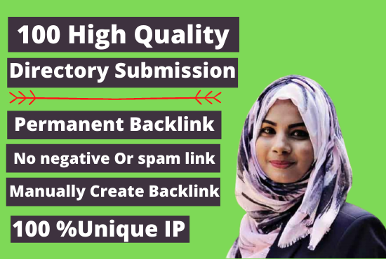 Manually create 100 Directory Submission