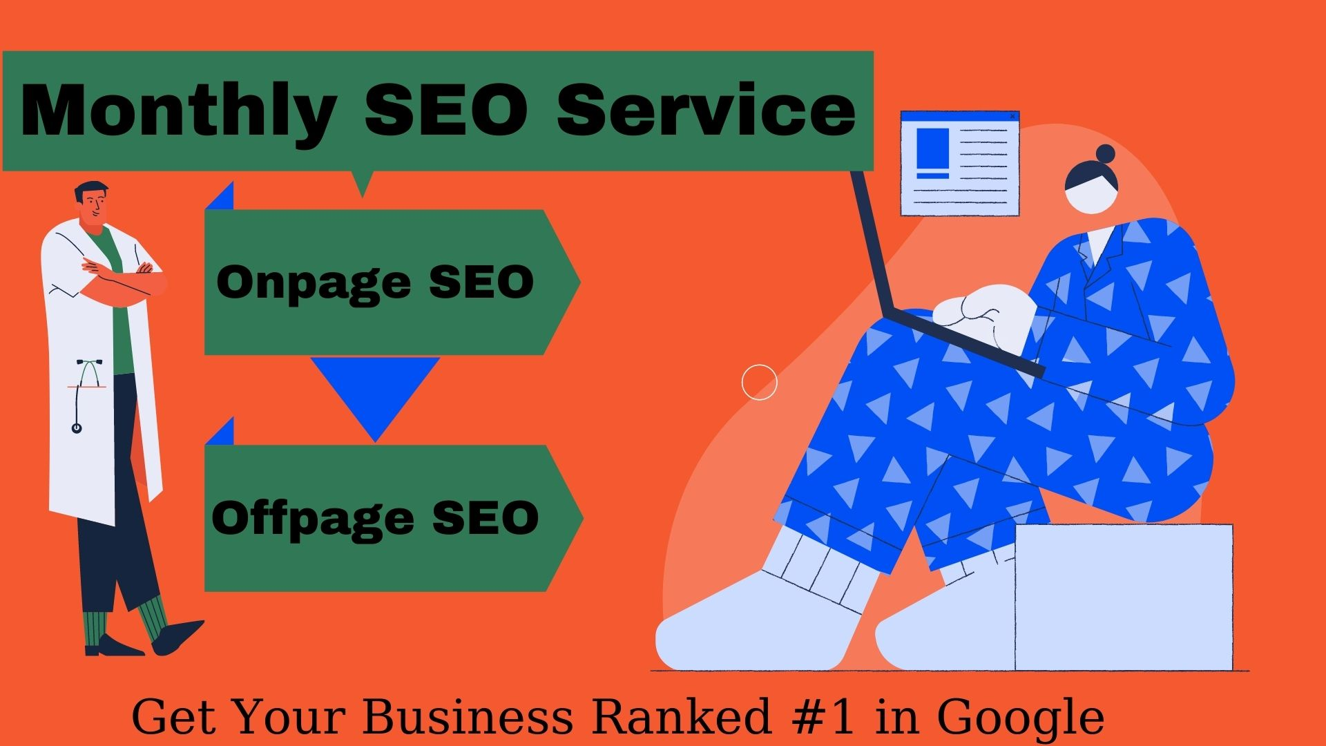 Monthly SEO Service for Wordpress with High Quality Backlinks
