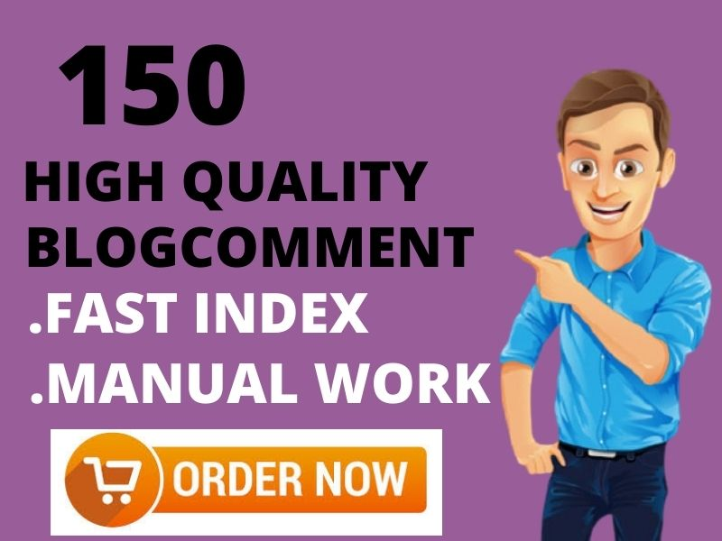 created 150 do follow blog comments backlinks in 50 words