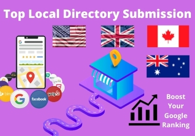 I will do top 50 manual local SEO Citations and Google Map Listing