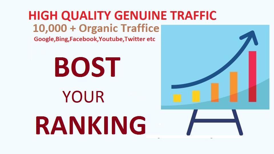 10,000 real visitors,  targeted web traffic
