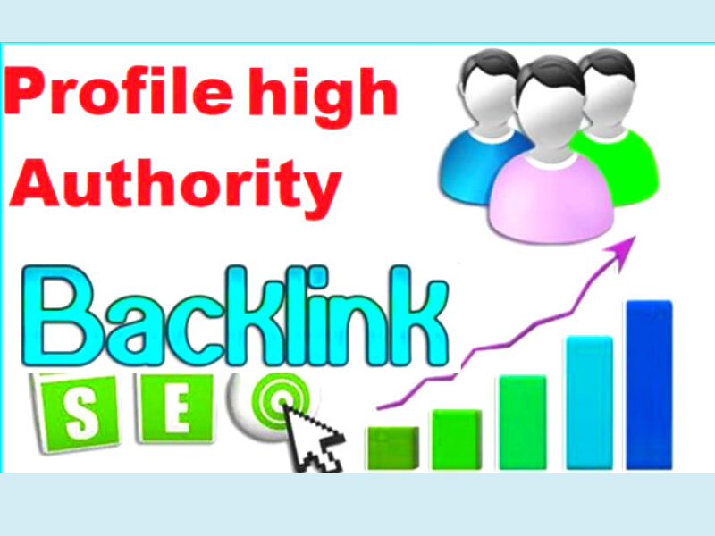 50 high quality profile backlinks service