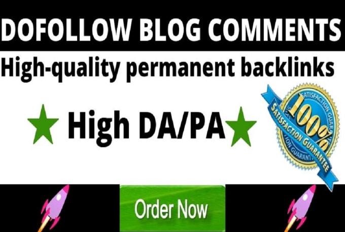 80 HQ Unique Blog Comment for rank your site