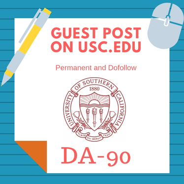 I will publish article on univesity of southern california usc edu da90 pa92 with backlink