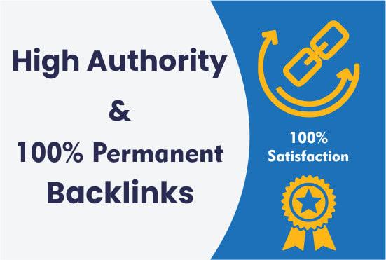 I will create da70 pr9 high authority seo dofollow backlinks for you