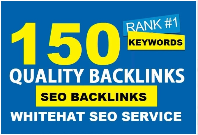 I will do high authority dr 150 SEO dofollow backlinks