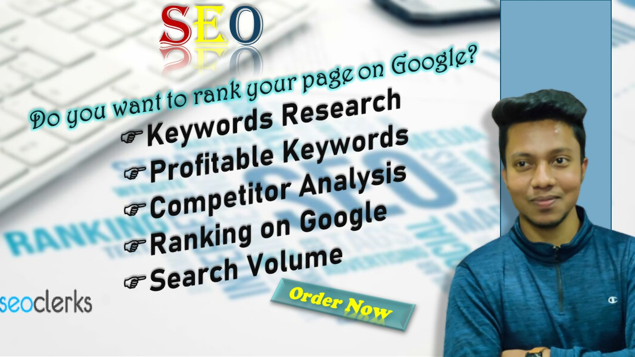 I will do keywords research and competitor analysis