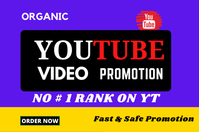 do organic youtube promotion guaranteed results