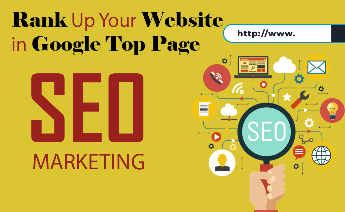 rank top your website on google 1st page with SEO