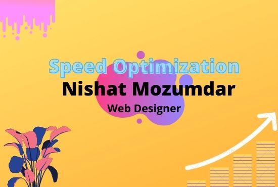 I will do wordpress website speed up