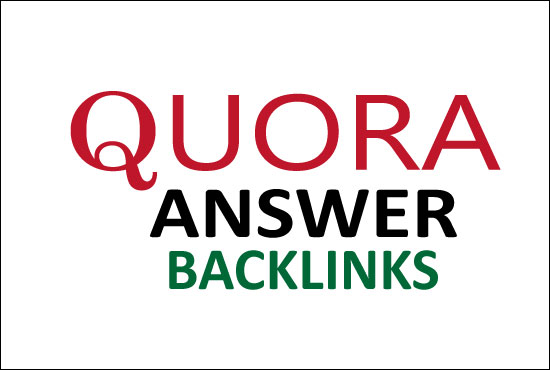 I will Create Niche Relevant 10 Quora Answer backlinks for targeted traffic
