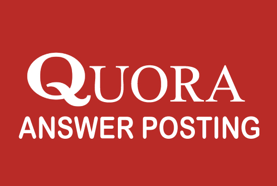 Promote your website 5 Quora Answer Backlinks