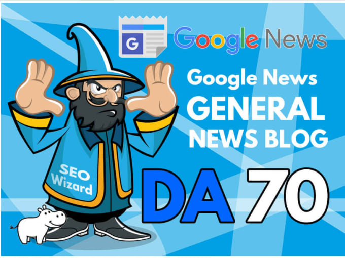 Guest post on Google news approved DA70 DR 65