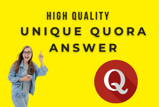 Guaranteed Traffic by 50 High Quality Quora Answer