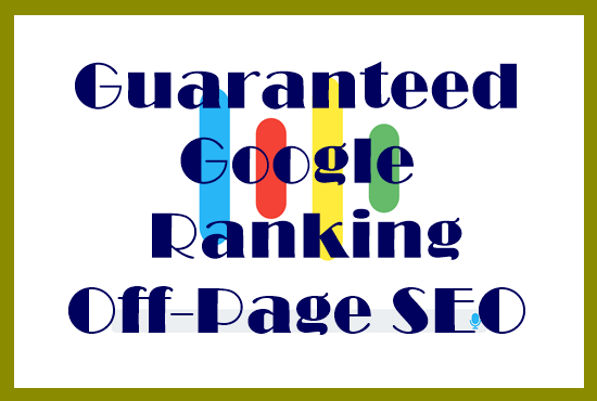 I Will Offer Your Site on Google First Page Ranking with Off-page SEO High-Quality Backlink