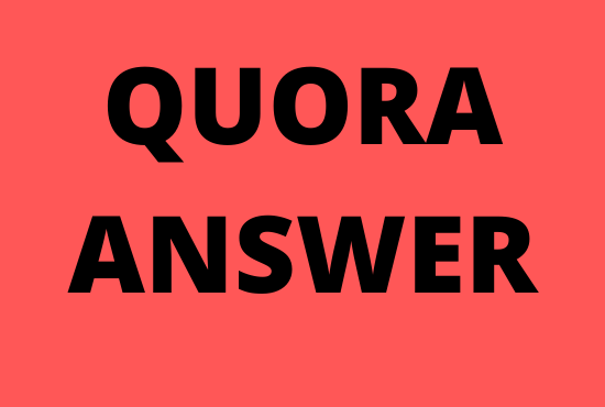 Offer Guaranteed targeted traffic with high-quality 8 Quora answers