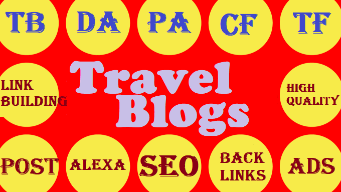Write and publish a guest post on the best discover travel blog to ranking on Google