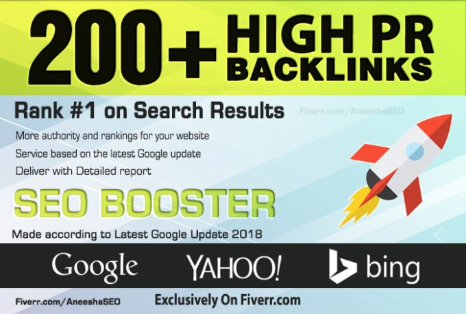 Build 200 HIGH-QUALITY Backlinks PR9,  EDU/GOV,  Web2 Post,  Article Submission Boost Top Ranking