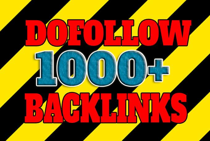 High quality DA90+ 1000 do follow backlink for your website