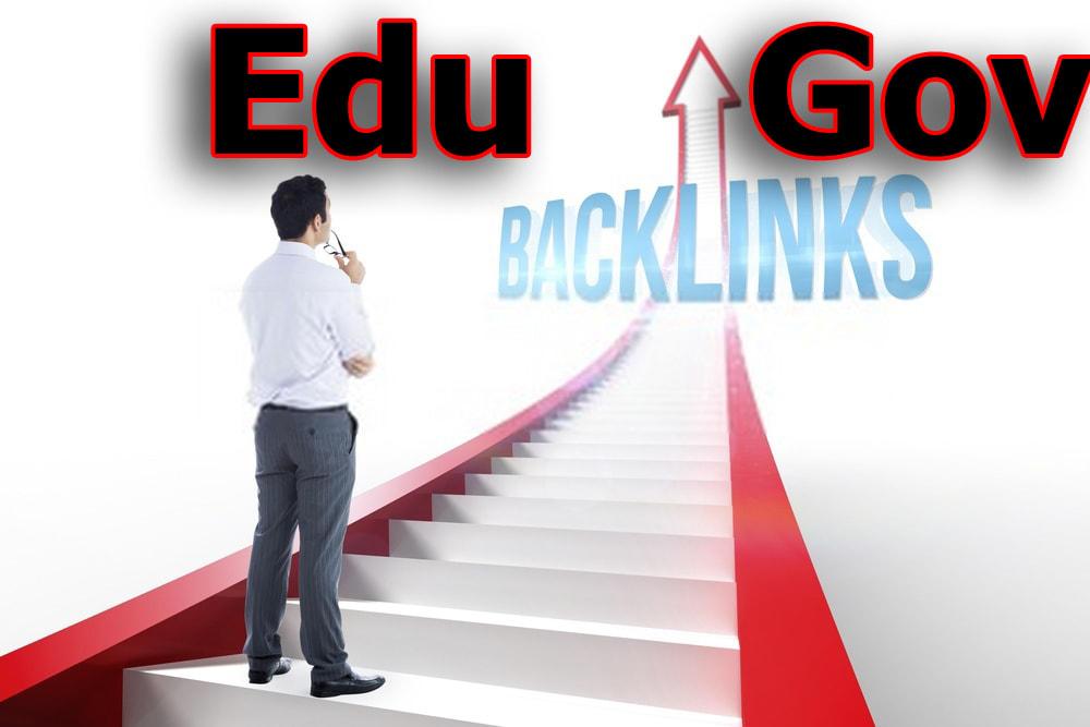 I will do Unique 400 EDU. Gov. Backlinks