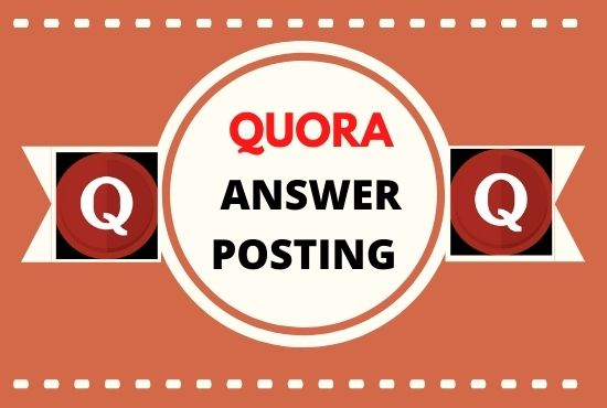promote your website with high quality unique quora answers backlink