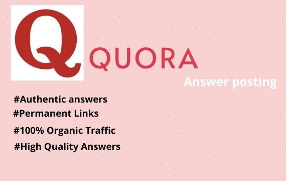Promote Your Website with 10 High Quality answers with targeted traffic