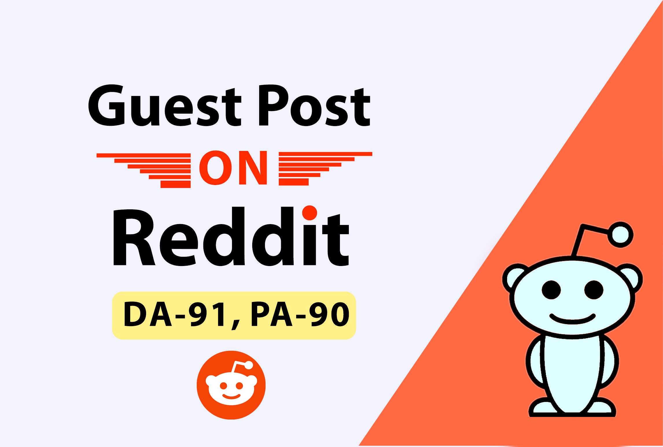 Write And Publish 10 Guest Post On Reddit.Com