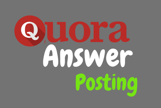 I'll provide you 20 HQ Quora answers with backlink flowing your keyword.