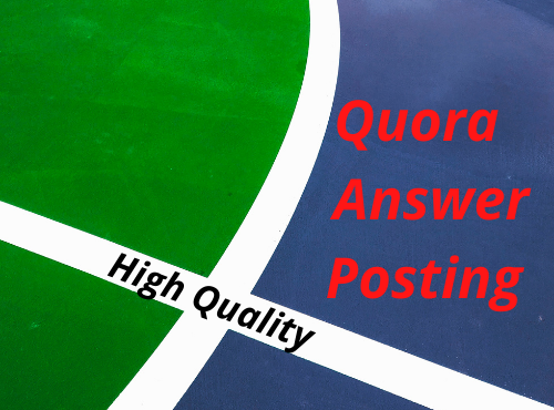 10 High Quality Quora Answer with unique Article